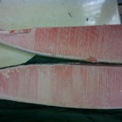 冷凍藍鰭金槍魚腹部平均位 ( 本マグロのトロ平均部分)HON O TORO SAKUDORI 平均位