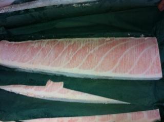 冷凍藍鰭金槍魚腹部份特選部位 HON O TORO SAKUDORI 特選位