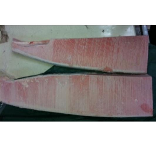 冷凍藍鰭金槍魚腹部平均位