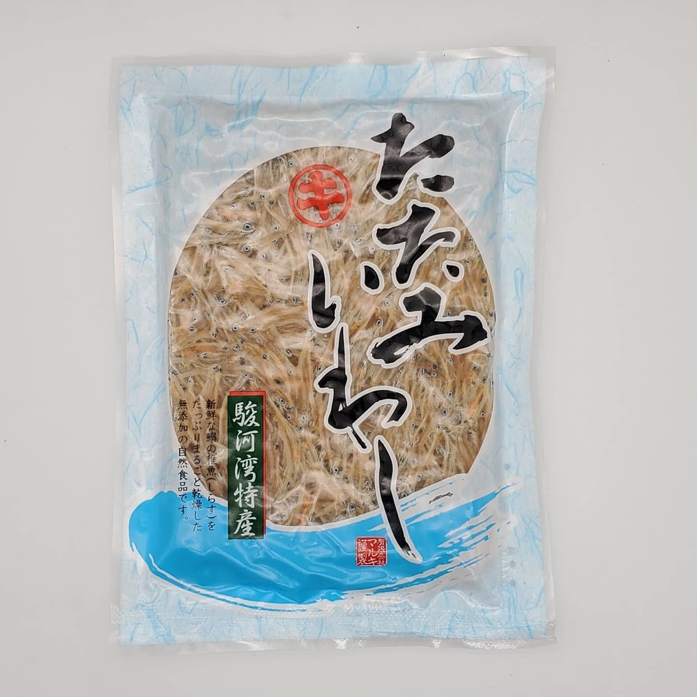 日本白飯魚乾